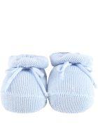 Story loris Light Blue Bootee For Babyboy - Light Blue