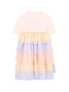 Caroline Bosmans Pink Dress For Girl - Pink