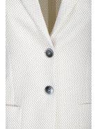 Circolo 1901 Circolo micro-pattern jacket - Bianco