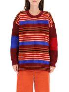 Colville Striped Sweater - MULTICOLOR (Red)