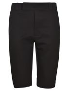 Prada Wrap Waist Fastening Shorts - Black