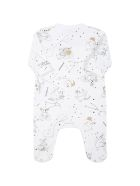 Givenchy White Set For Baby Kids With Constellations - White