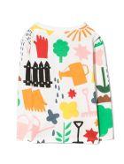 Stella McCartney White Cotton T-shirt - Multicolor