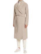Kiton Coat Cashmere - TAUPE