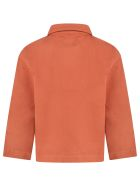 The New Society Brick Red ''david'' Jacket For Boy - Red