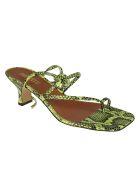 Paris Texas Betty Lace-up Sandals - Peyote