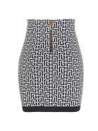 Balmain Skirt - Bianco e Nero