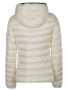 Moncler Zipped Pocket Padded Jacket - Panna