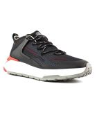 Tod's Black And Red No_code J Sneakers - Nero+rosso