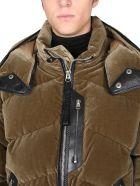 Tom Ford Velvet Down Jacket - MARRONE