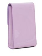 Givenchy Vertical 4g Crossbody Bag In Lilac Patent Leather - Violet