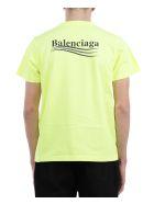 Balenciaga Yellow Political Campaign T-shirt - Giallo