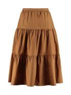 Baum und Pferdgarten Shai Ruffled Skirt - brown