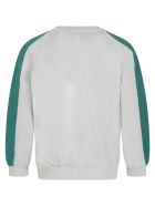 Bobo Choses Multicolor Sweatshirt For Kids With Logo - Grey