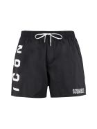 Dsquared2 Nylon Swim Shorts - black