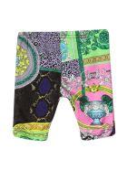 Versace Multicolor Print Leggings - Multicolore