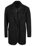 Isabel Marant Button-zip Padded Jacket - Black