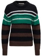 Tela Gina Striped Sweater In Mohair Blend - Multicolor