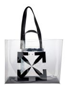 Off-White Off White Large Arrow Tote Bag - TRANSPARENT