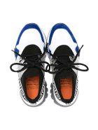 Versace Sneakers Young - Nero/bianco/blu