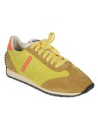 RE/DONE 70s Runner Sneakers - Lemon/Tan/Orange