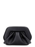 THEMOIRè Gea Faux Leather Clutch - black
