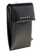 Marni Polyester Phone Holder - BLACK
