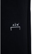 A-COLD-WALL Brush Stroke Jersey Jogger  With Logo - Black