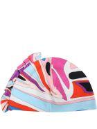 Emilio Pucci Multicolor Set For Baby Girl - Fuchsia