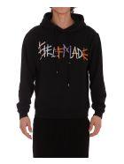 Self Made Logo Hoodie - Black