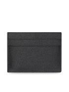 Balenciaga Plate Card Holder - Black