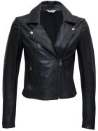 Liu-Jo Black Leather Jacket - Black