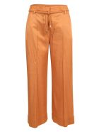 True Royal Viscose Trousers - Orange