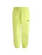 Balenciaga Neon Yellow Sweatpants For Kids With Logo - Yellow