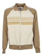 Telfar Beige Sweatshirt With Zip - Beige