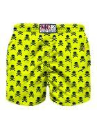 MC2 Saint Barth Micro Skulls All Over Print Boy's Swim Trunks