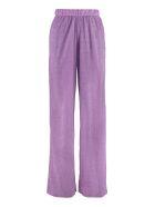 Oseree Lumière Elasticated Waist Trousers - purple