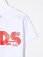 GCDS Mini Logo-printed T-shirt - Bianco