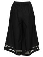 Adidas Originals Black Wide-leg Trousers - BLACK