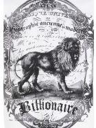 Billionaire 'lion' T-shirt - White