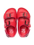 Gallucci Kids Red Sandals - Papavero