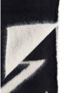 Lanvin Scarf - Black white