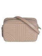 Prada Quilted Zip-around Logo Shoulder Bag - Cammeo