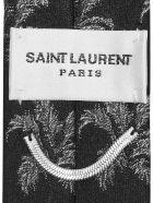 Saint Laurent M&b Coco Tie - Black Medium Grey