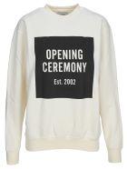 Opening Ceremony Box-logo Sweatshirt - Off White