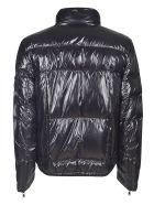 Prada Medium Zip Hoodie - Black/Prugne