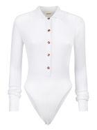 Dodo Bar Or Knitted Bodysuit - White