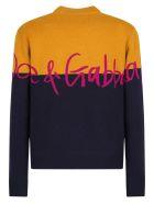 Dolce & Gabbana Branded Sweater - Multi