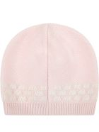Fendi Pink Set For Baby Girl With Douple Ff - Pink