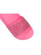 Menghi Slide Sandals - Hydrangea